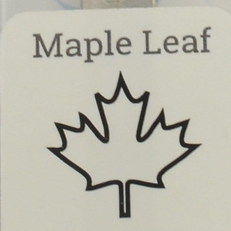 s44152 ImpressArt Stamps - 6 mm Design Stamp/Punch - Maple Leaf (1)