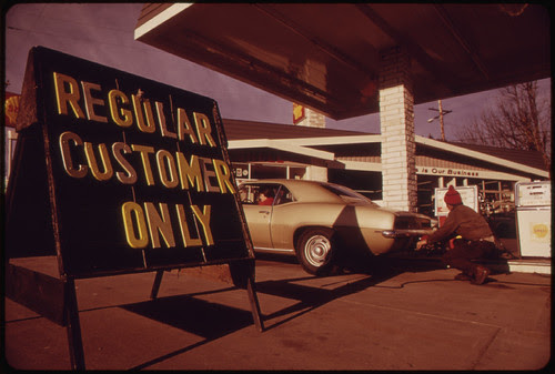 Prior to Oregon's Regulation of Gasoline Station Fuel Sales Some Dealers Attempted to Sell Only to Their Regular Customers