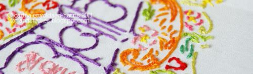 Embroidery backs