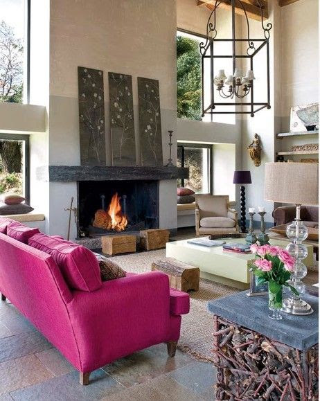 Fireplace Inspirations http://www.homeadore.com/2012/11/02/fireplace-inspirations/