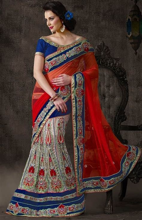 43 best Lehenga Style Saree   Bridal Wear Collection