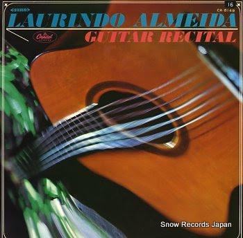 ALMEIDA, LAURINDO guitar recital