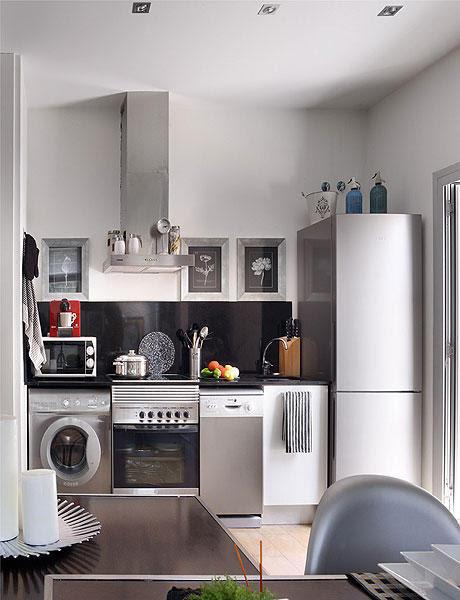 keldecor: (via lindamente decorado Apartamento medidor 48 Square | DigsDigs)