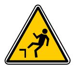 Safety Yellow ChuteDenivellation