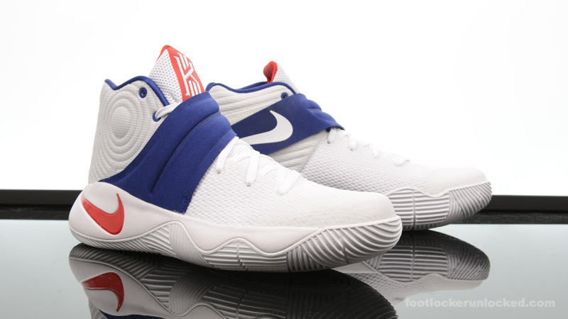 Nike Kyrie 2 Red White Blue Foot Locker Blog
