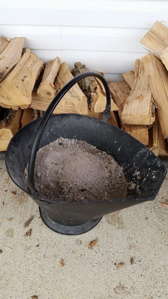 wood and wood ash