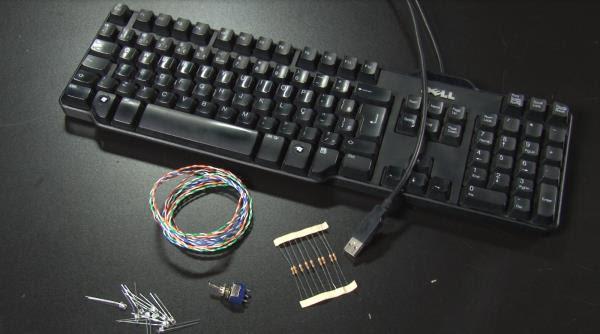 Área 42: Como fazer um teclado iluminado para o seu PC [vídeo]