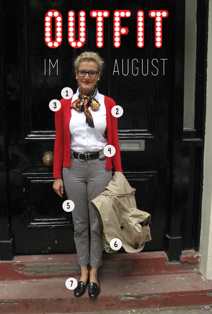 Outfit im August 2011