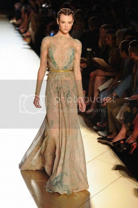Elie Saab Fall 2012: Paris Haute Couture