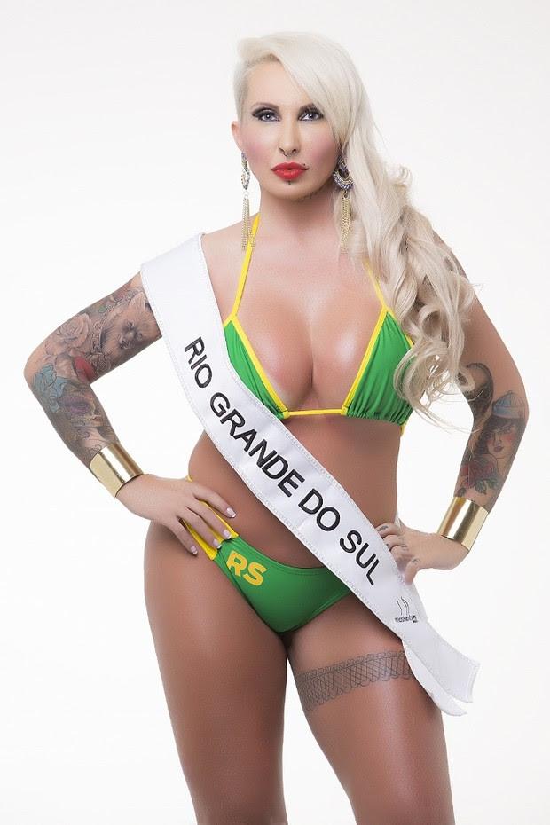 Candidatas ao Miss Bumbum Brasil 5 - Sabrina Boing Boing - Rio Grande do Sul   (Foto: Divulgação MBB5! )