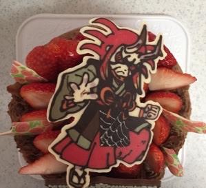 妖怪ウォッチ 鬼蜘蛛のケーキ ちょこっとしょこらな手作りお菓子