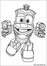Dibujos De Robot Trains Para Colorear En Colorearnet