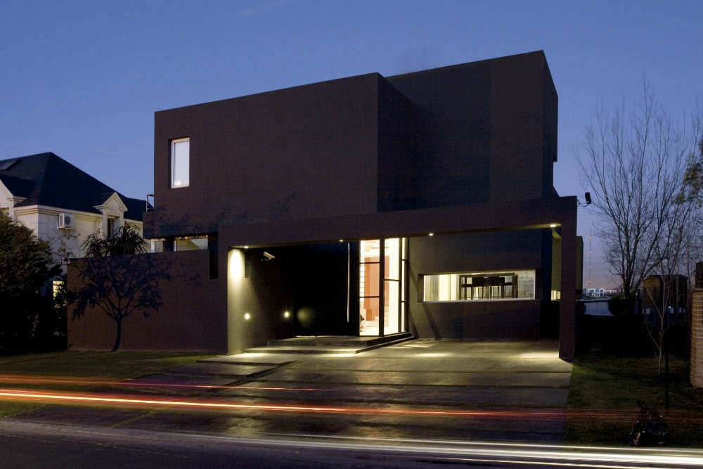 The Black House Andres Remy Arquitectos Tecno Homes - Mo-house-by-lvs-architecture-jc-name-arquitectos