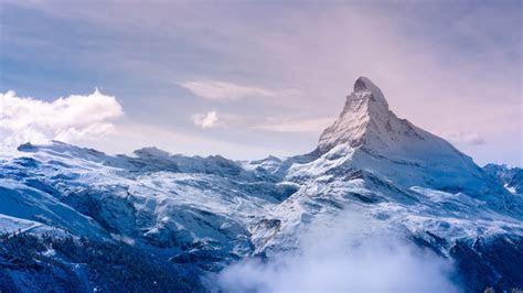 Snow Mountain 4K Ultra HD Wallpaper [3840x2160]