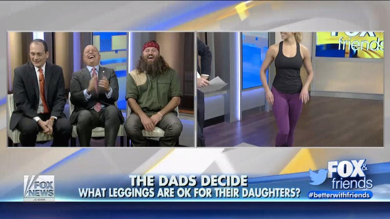 Fox News Invites 'Panel of Fathers' to Discuss the Merits of Leggings