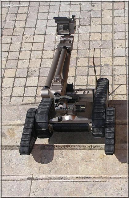 robot lunaire