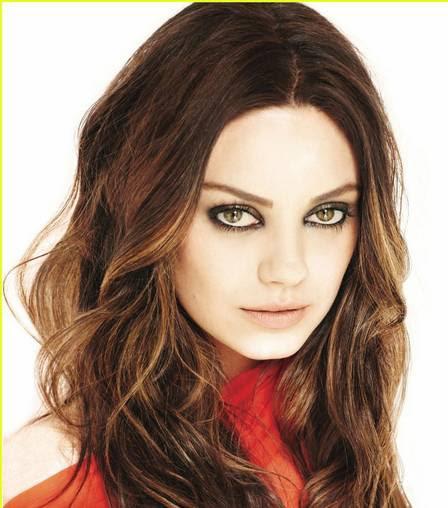 Mila Kunis: olhar provocante e muita sensualidade