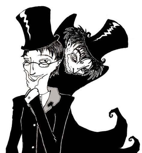 Dibujo de Doctor Jeckyll y Mr Hyde