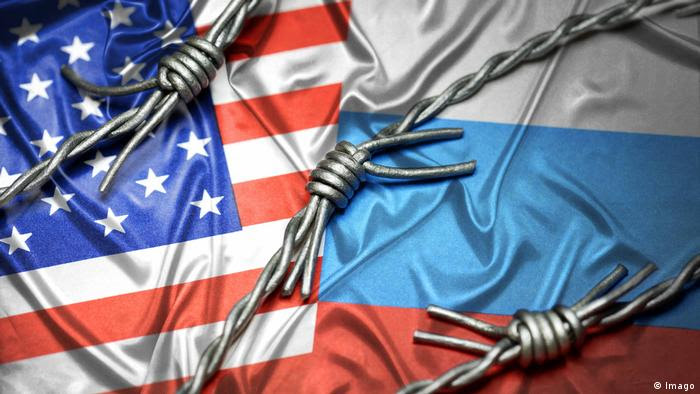 Symbolbild USA Russland Konflikt (Imago)