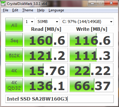 Intel SSD speed test on Outdated Penang Uncle blogspot dot com
