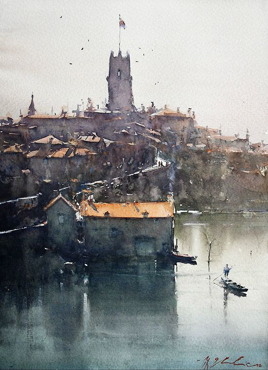 architectural water colors 16