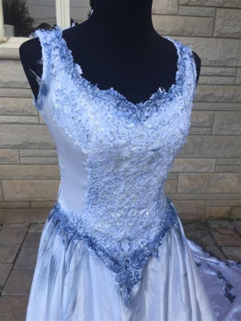 The Corpse Bride Emily Wedding Dress Halloween Costume One