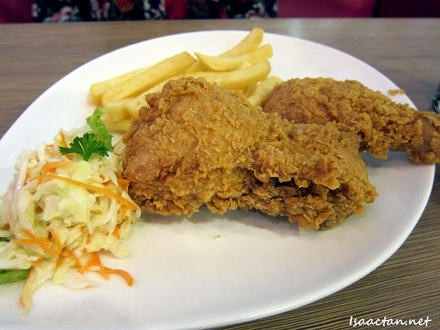 BBQ Chicken Wangsa Walk Mall Fried Chicken