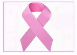 Lazo rosa cáncer mama mamografía día de cribado