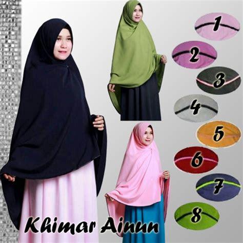 model jilbab khimar jilbab instan khimar ainun syar