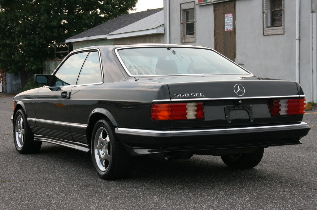 Mercedes 560 SEC Coupes, 6.0 AMG | German Cars For Sale Blog