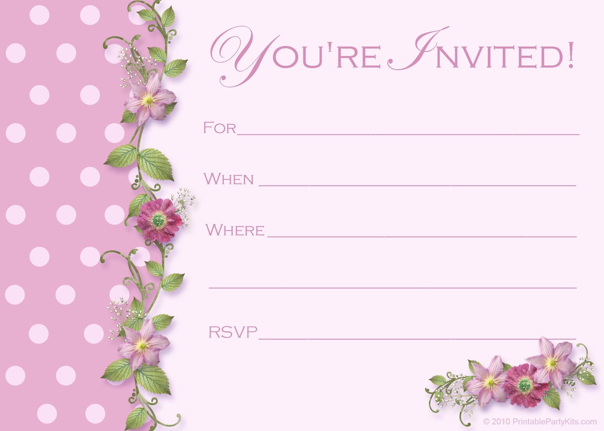 FREE PRINTABLE INVITATIONS On Pinterest Free Printable Party Owl ...