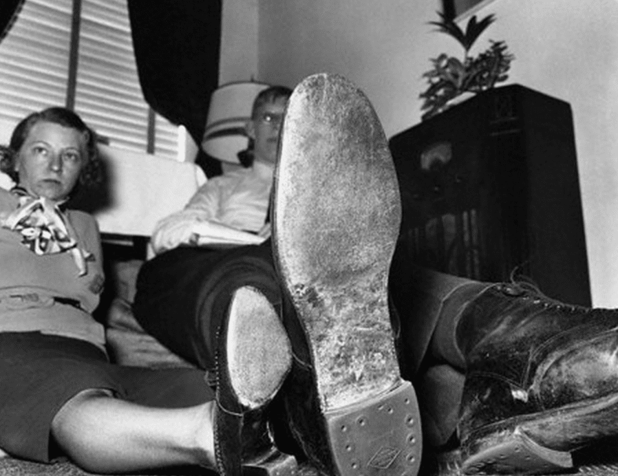 Eventually, his shoe size grew to size 37, and each pair cost $100.