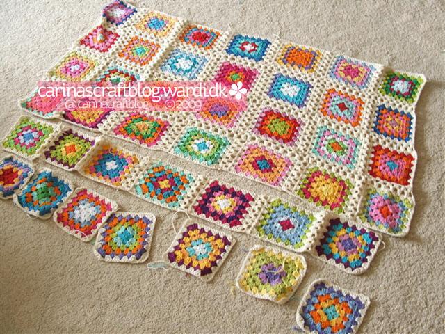 Crochet tutorial: joining granny squares 1