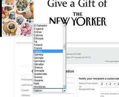 new yorker country list bug