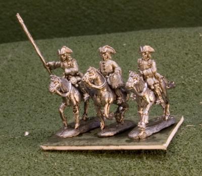 15MBN105 Cuirassiers Tricorn Command