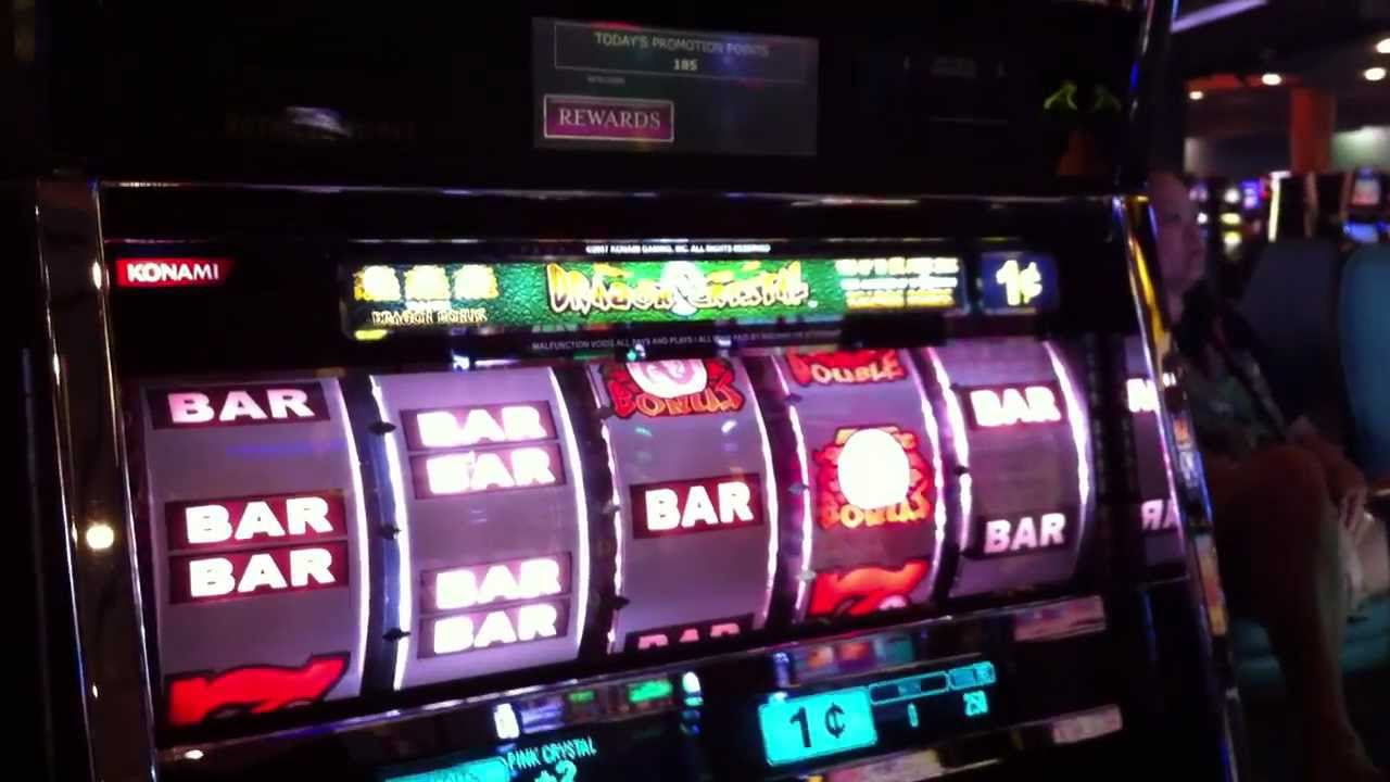Slot machines with dragons