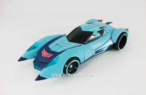 Transformers Blurr Animated Deluxe - modo alterno