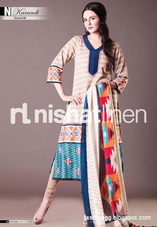 Nishat-Linen-Winter-Dresses-Collection-2013-Nishat-Linen-Fancy-Frocks-Shalwar-Kamiz-12
