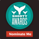 Nominate Sandra London for a social media award in the Shorty Awards!