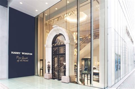 Harry Winston Reopens Flagship Salon in Ginza   Harry Winston