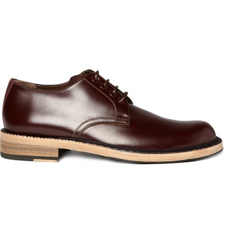 Red Burungdy Shoes Man