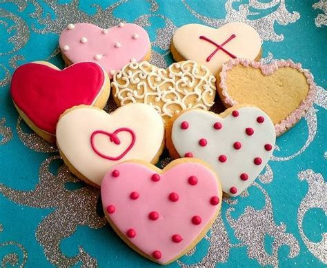 Dearly Beloved   Love heart biscuits