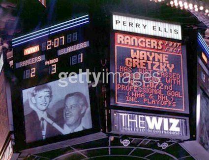 Wayne Gretzky Final Goal