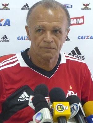 Flamengo Coletiva Técnico Jayme de Almeida (Foto: Globoesporte.com)