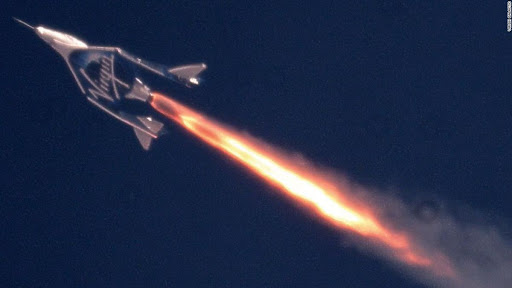 Avatar of Tourism rocket ship reaches space on test flight
