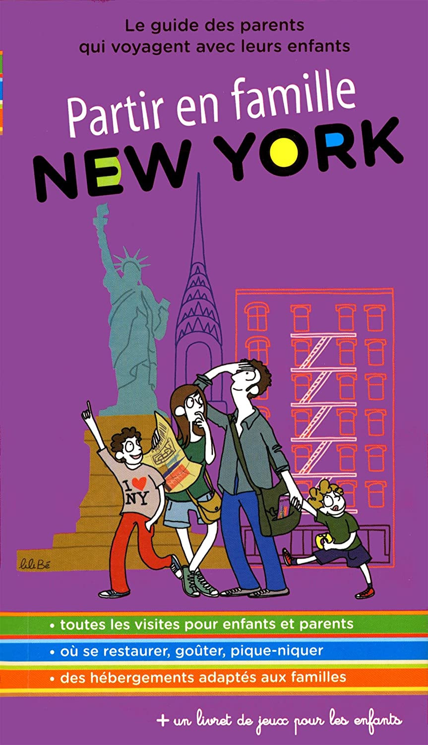 "Fiere co-auteur du guide ""Partir en famille - New York """