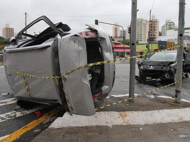 acidente zona sul (Foto: Luiz Guarnieri/Agência Estado)