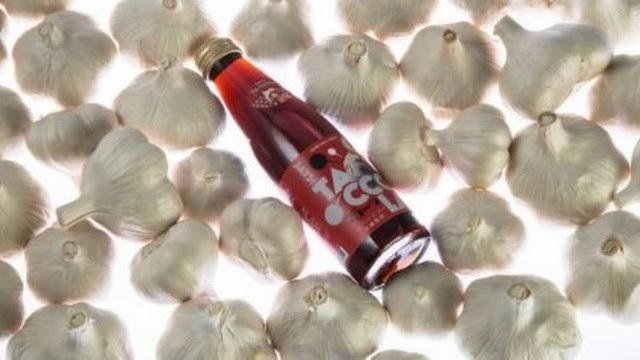 Refrigerante de alho é lançado no Japão