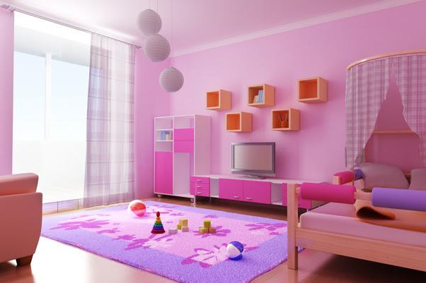 Latest Creative and Unique Kids Interior Room Decoration Design