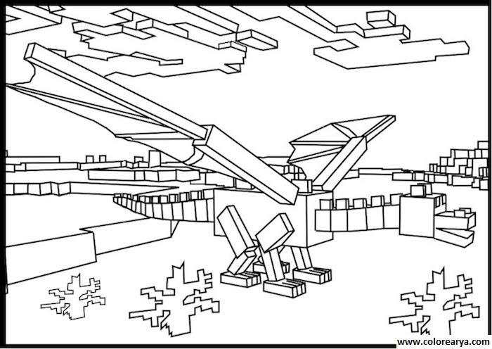 Dibujos Para Colorear Minecraft Imagui